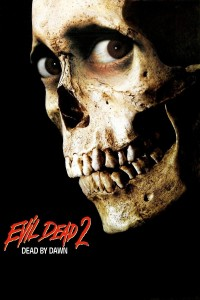 "Poster for the movie ""Evil Dead II"""