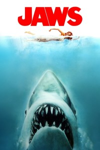 "Poster for the movie ""Jaws"""
