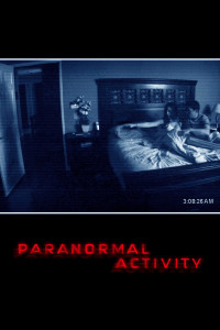 "Poster for the movie ""Paranormal Activity"""