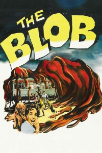 "Poster for the movie ""The Blob"""