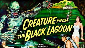 "Image from the movie ""Creature from the Black Lagoon"""