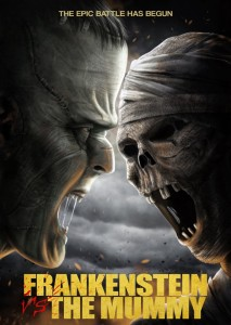 "Poster for the movie ""Frankenstein vs. The Mummy"""