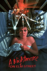 "Poster for the movie ""A Nightmare on Elm Street"""