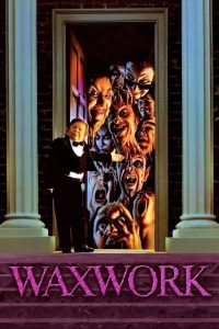 """Poster for the movie """"Waxwork"""""""