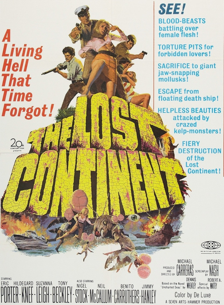 "Poster for the movie ""The Lost Continent"""