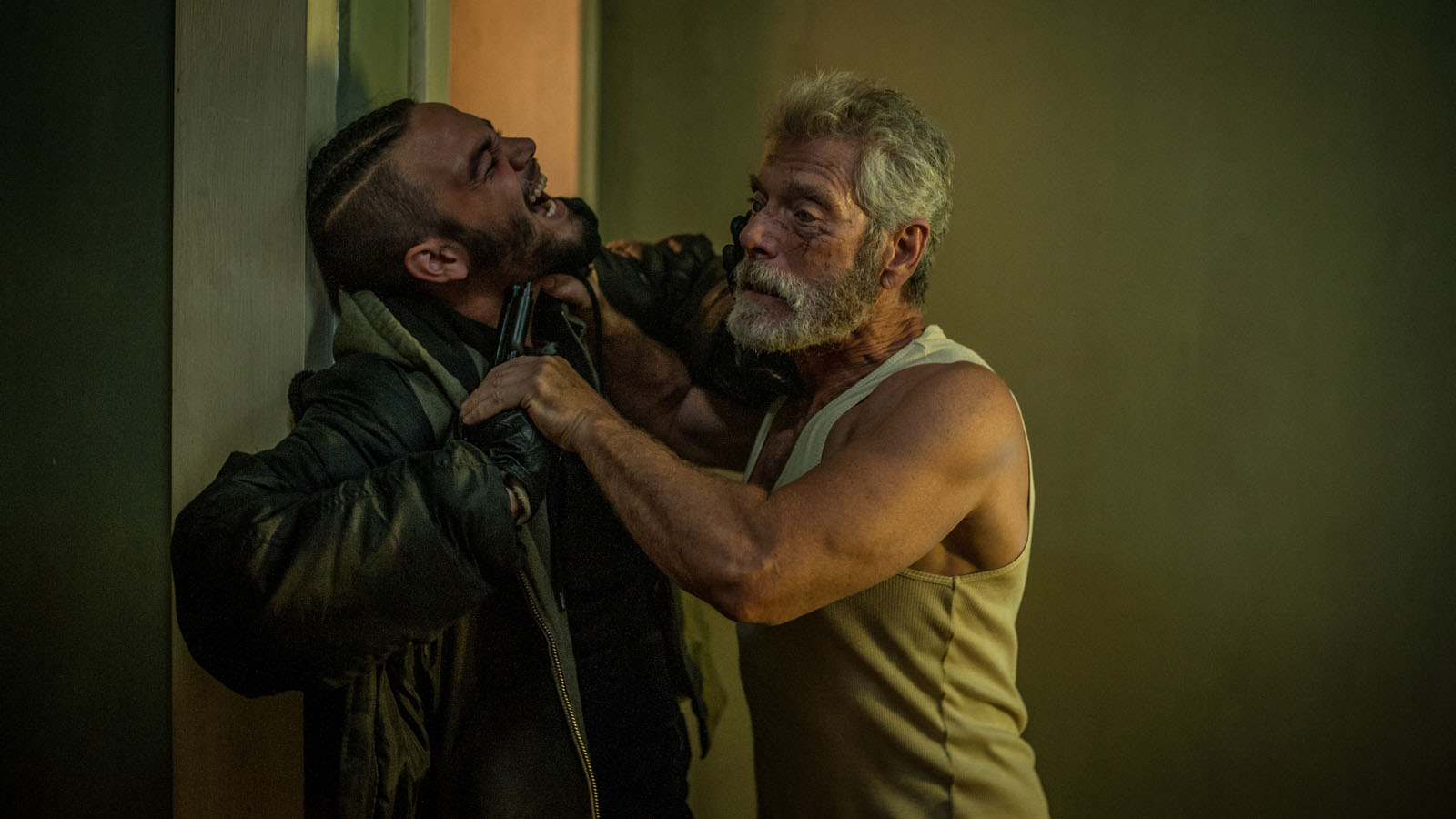 Daniel Zovatto and Stephen Lang star in Screen Gems' horror-thriller DON'T BREATHE.