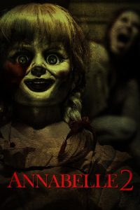 "Poster for the movie ""Annabelle 2"""