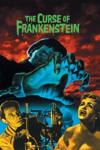 "Poster for the movie ""The Curse of Frankenstein"""