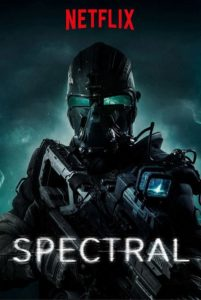 "Poster for the movie ""Spectral"""