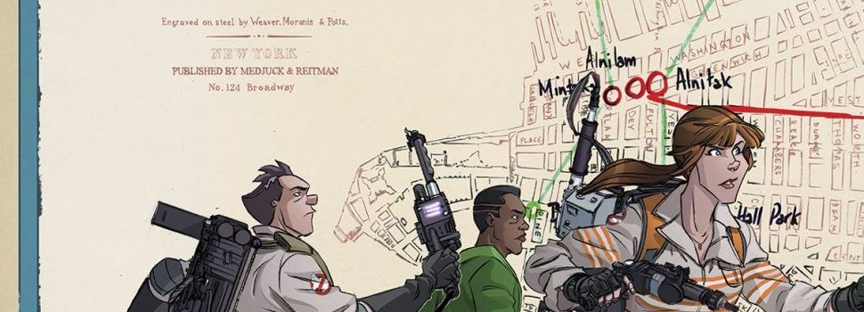 Two eras of Ghostbusters to team-up in four color form!
