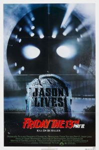 "Poster for the movie ""Friday the 13th Part VI: Jason Lives"""