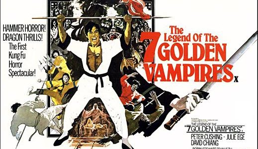 Castle of Horror: Legend Of The Seven Golden Vampires Is Crazy Kung Fu Horror