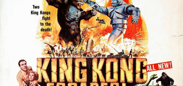 "Castle of Horror: King Kong Faces Bondian Villain ""Doctor Who"" In King Kong Escapes"